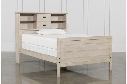 Owen Sand Full Bookcase Bed W/No Storage - Main