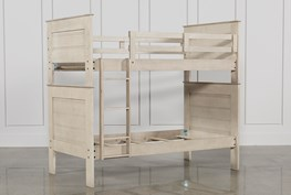 Owen Sand Twin Over Twin Bunk Bed