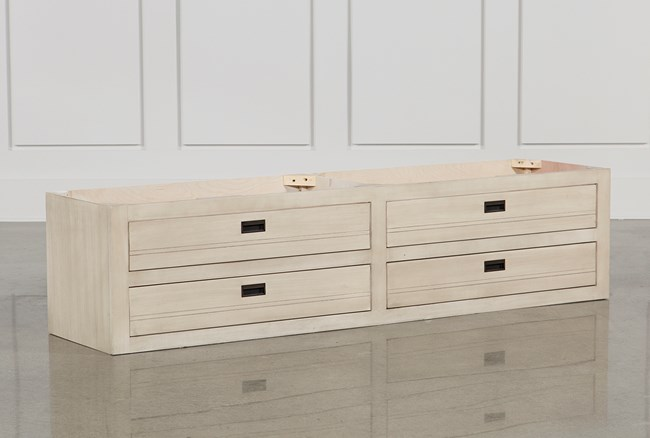 Owen Sand 4-Drawer Underbed Storage - 360