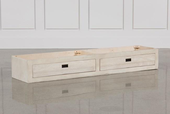 Owen Sand 2-Drawer Underbed Storage - 360