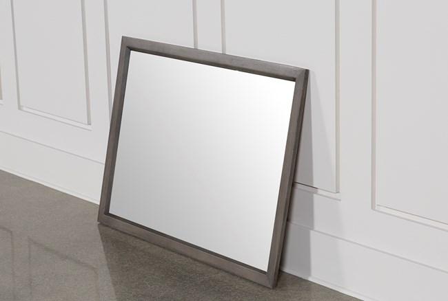 Owen Grey Mirror - 360