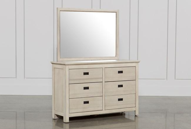 Owen Sand Dresser/Mirror - 360