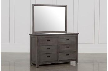 Owen Grey Dresser/Mirror