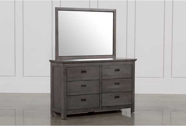 Owen Grey Dresser/Mirror - 360