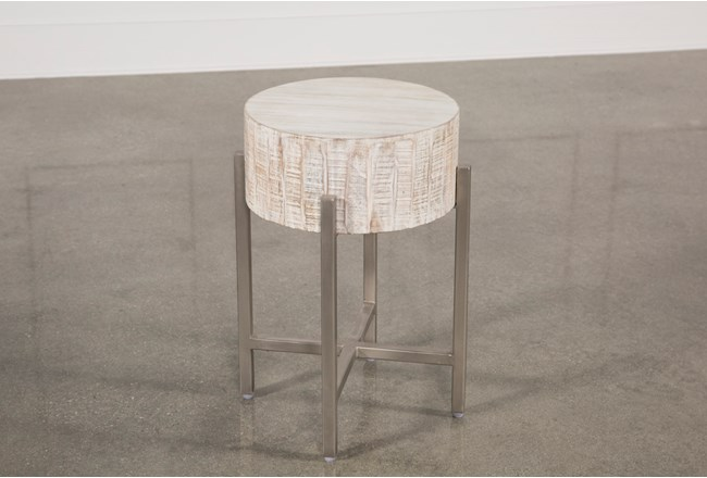 white wash end table 360 elements - White Wash End Tables
