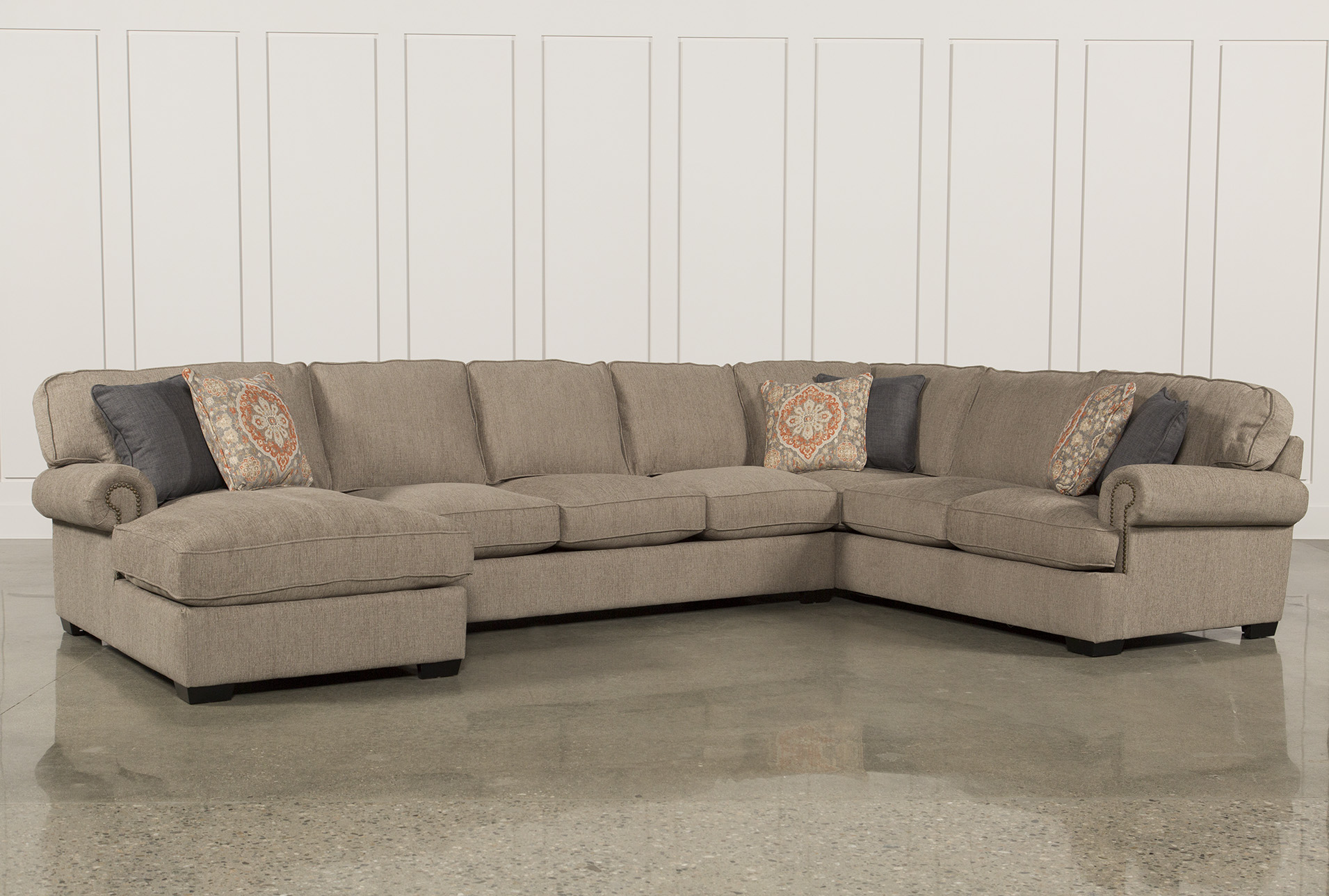 Marvelous Campbell 3 Piece Sectional   360