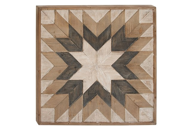Wood Wall Decor 30X30 - 360
