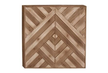 Wood Wall Decor 25X25