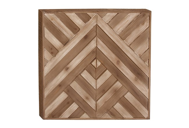 Wood Wall Decor 25X25 - 360