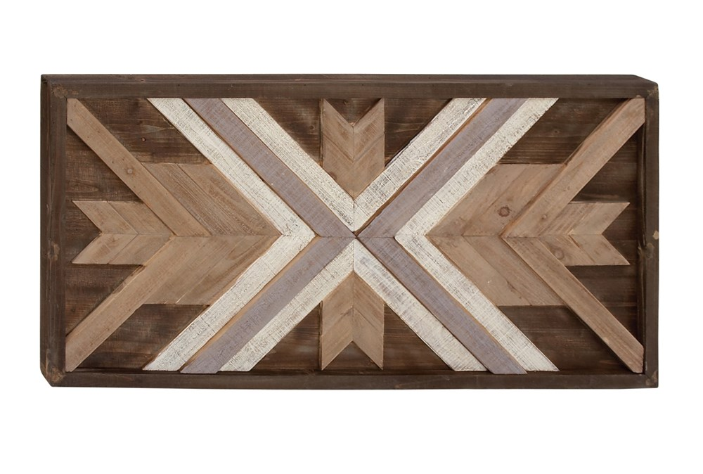 Wood Wall Plaque 48X24