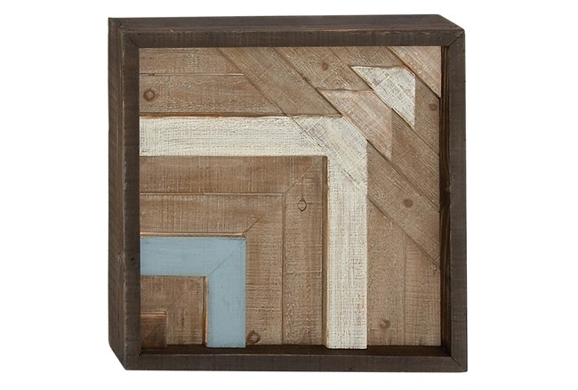 Wood Wall Plaque 20X20 - 360