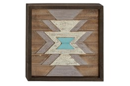 Wood Wall Plaque 20X20