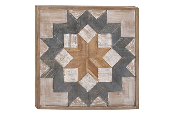 Wood Wall Art 31X31 - 360