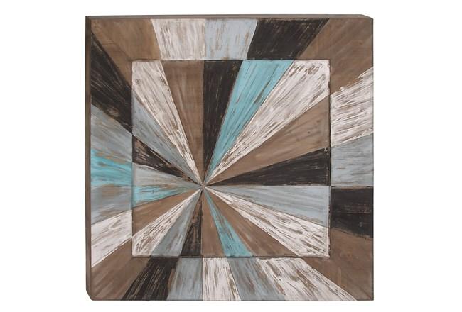 Wood Wall Art 39X39 - 360