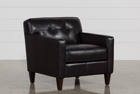 Madison Espresso Leather Chair