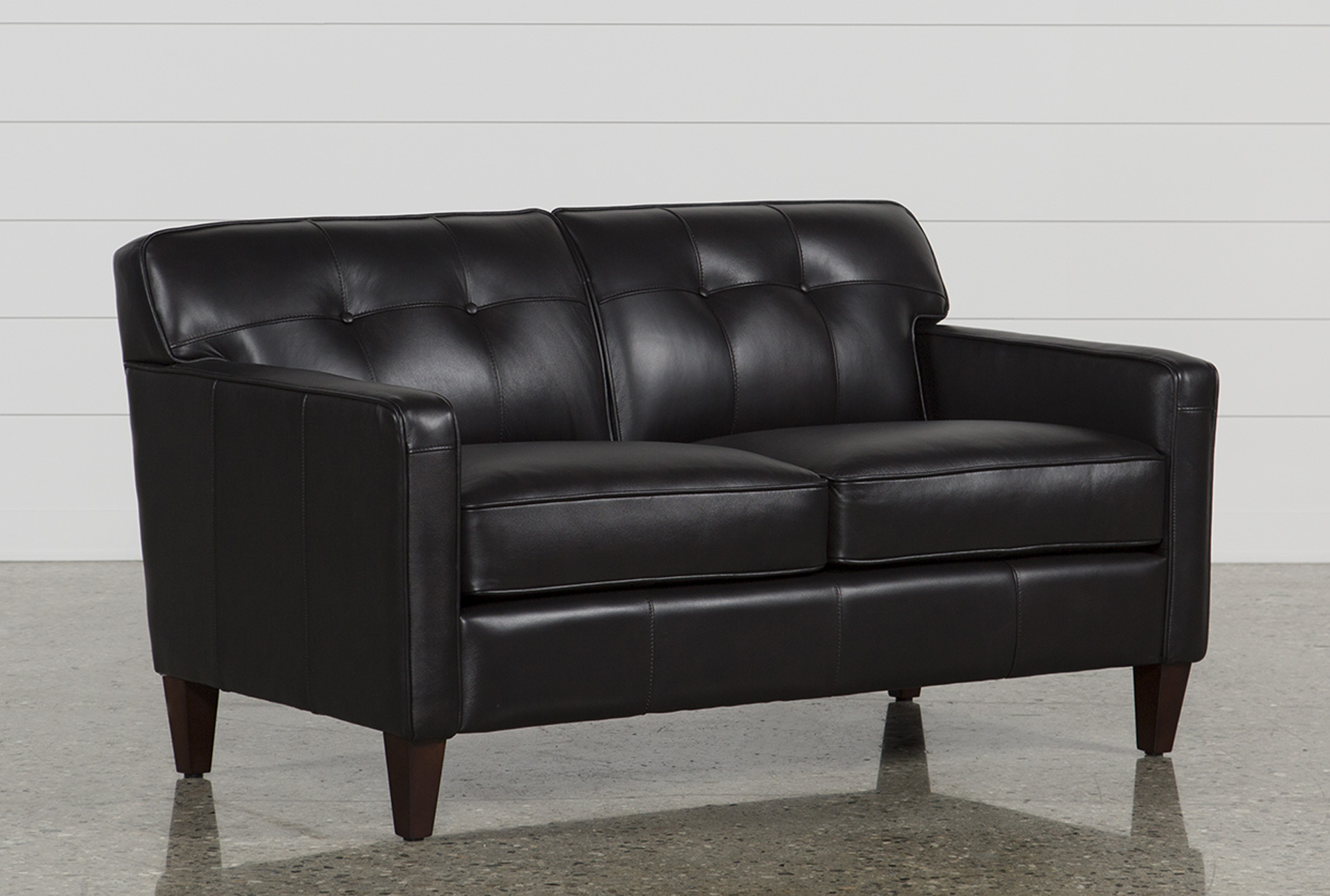 Madison Espresso Leather Loveseat (Qty: 1) Has Been Successfully Added To  Your Cart.
