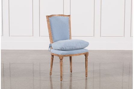 Dining Chair W/Blue Loose Seat - Main