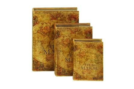 3 Piece Set Atlas Maior Book Boxes - Main