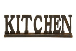 24X8 Wood Kitchen Sign