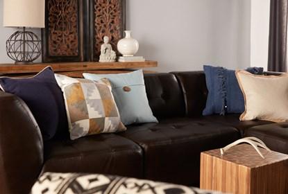 Incredible Accent Pillow Linen Button Light Blue 20X20 Andrewgaddart Wooden Chair Designs For Living Room Andrewgaddartcom