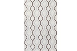5'x8' Rug-Retro Diamond Cream