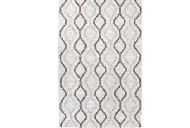 96X120 Rug-Retro Diamond Cream - 360