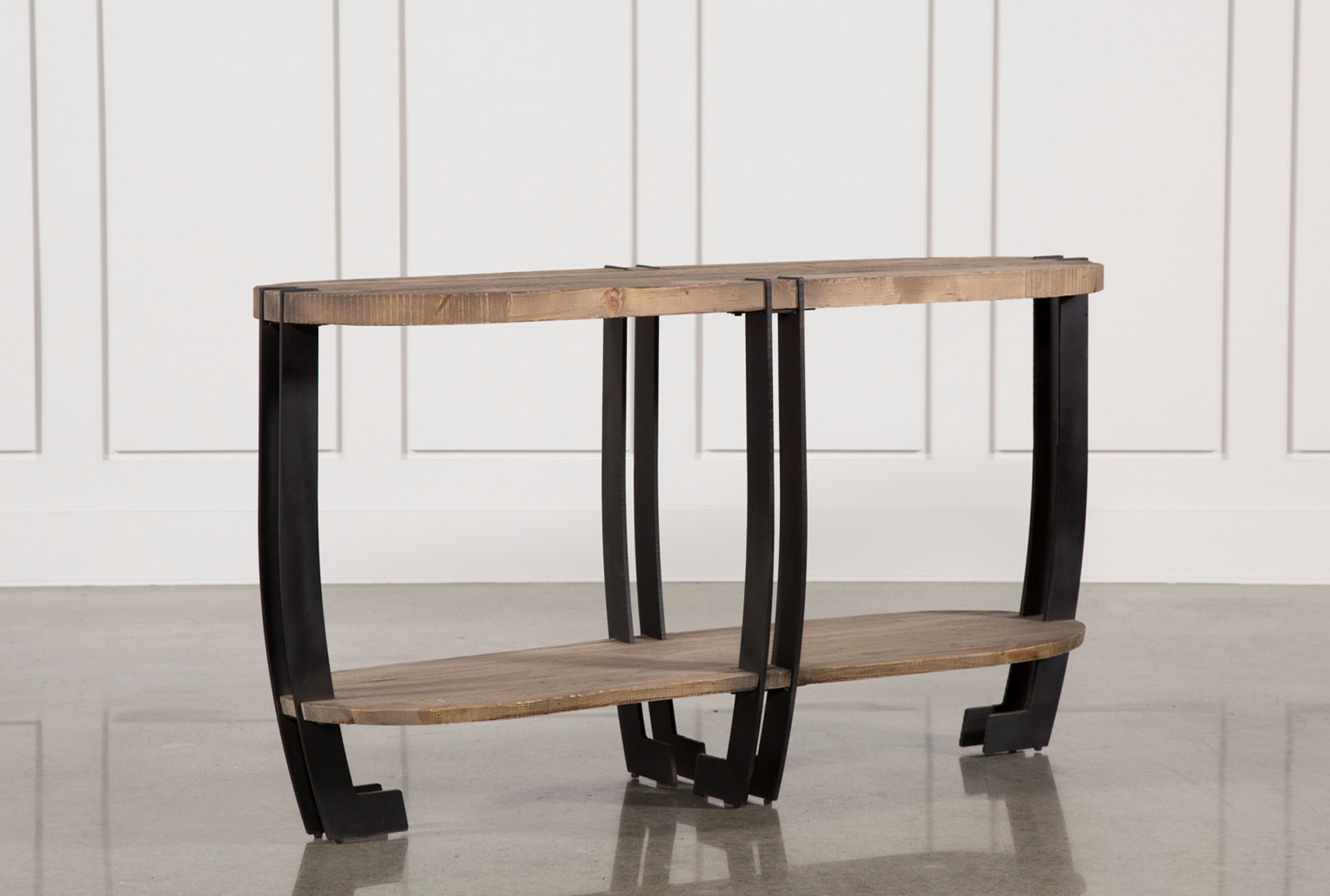 Jacen sofa table living spaces for Living spaces sofa table