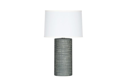 Table Lamp-Grey Striations - Main