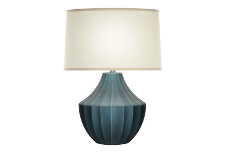 Table Lamp-Blue Wash Hydria