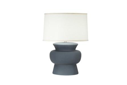 Table Lamp-Ronan Charcoal Crackle