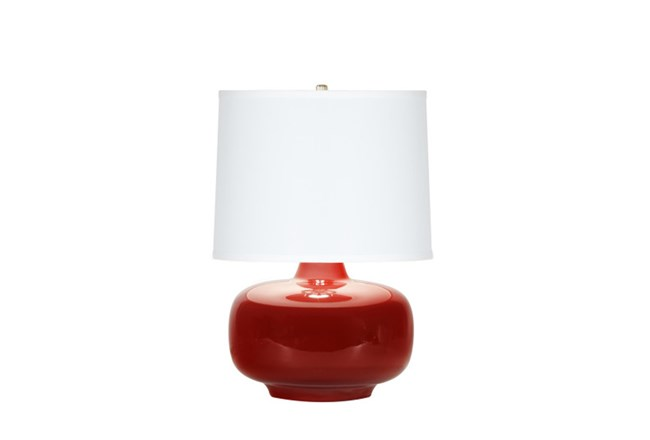 Table Lamp-Zoey Red - 360