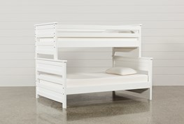 Summit White Twin Over Full Bunk Bed