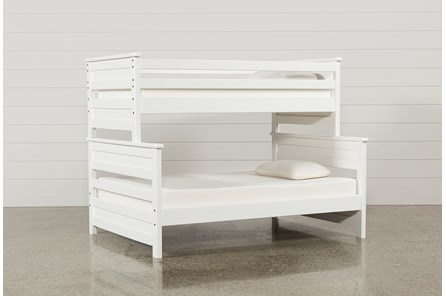 Summit White Twin Over Full Bunk Bed - Main
