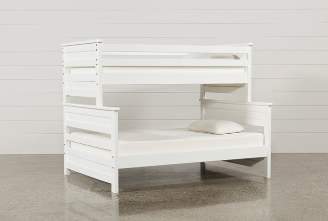 Summit White Twin Over Full Bunk Bed - 360