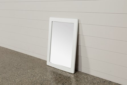 Summit White Mirror