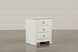 Summit White Nightstand