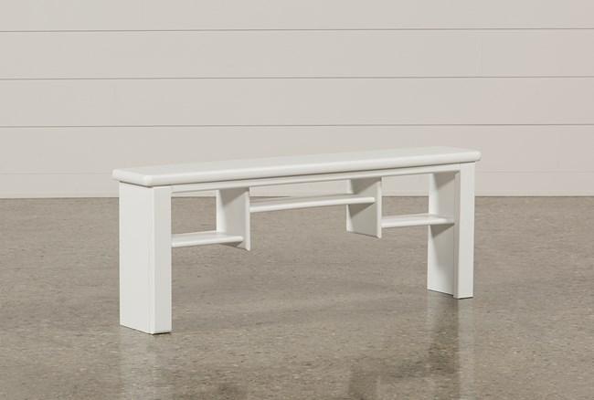 Summit White Desk Hutch - 360