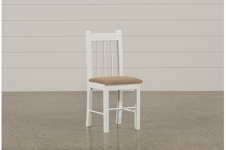 Summit White Desk Chair - Main