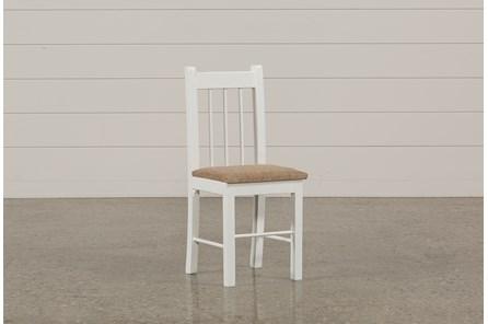 Summit White Desk Chair - Main