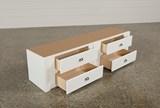 Summit White 4-Drawer Storage Unit - Top
