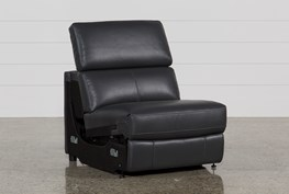Kristen Slate Grey Armless Power Recliner
