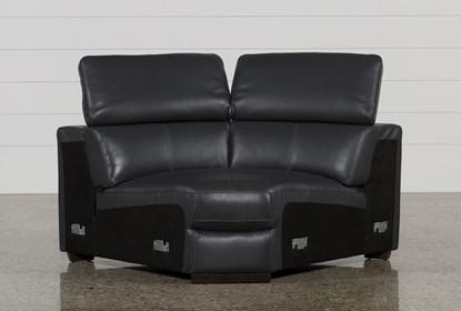 Surprising Kristen Slate Grey Leather Corner Wedge Creativecarmelina Interior Chair Design Creativecarmelinacom