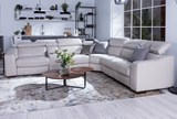 Kristen Silver Grey 6 Piece Power Reclining Sectional - Room