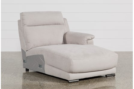 Kerwin Silver Grey Right Facing Chaise - Main