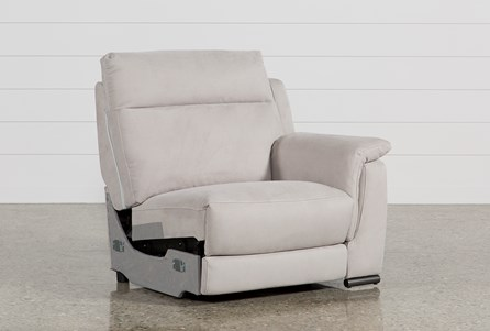 Kerwin Silver Grey Right Facing Power Recliner W/Usb