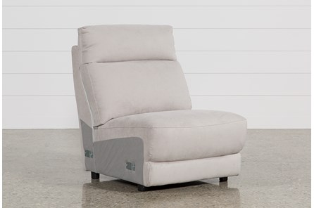 Kerwin Silver Grey Armless Chair - Main