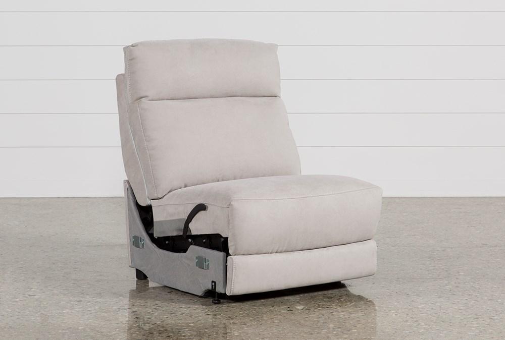 Kerwin Silver Grey Armless Recliner