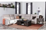 Kerwin Silver Grey 5 Piece Power Reclining Sectional - Room