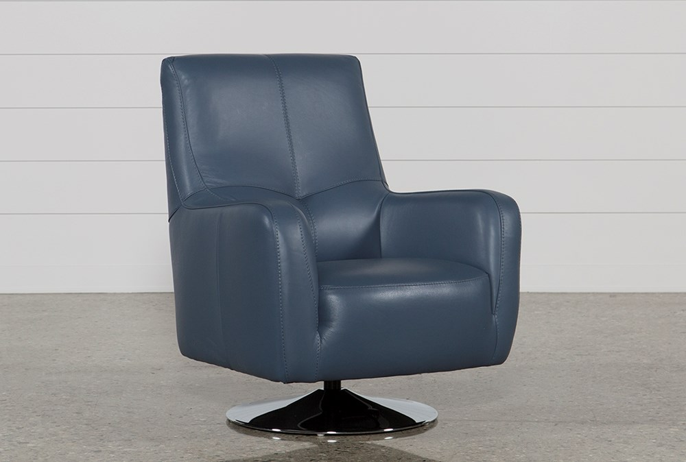 Kawai Leather Swivel Chair