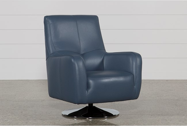 Kawai Leather Swivel Chair - 360
